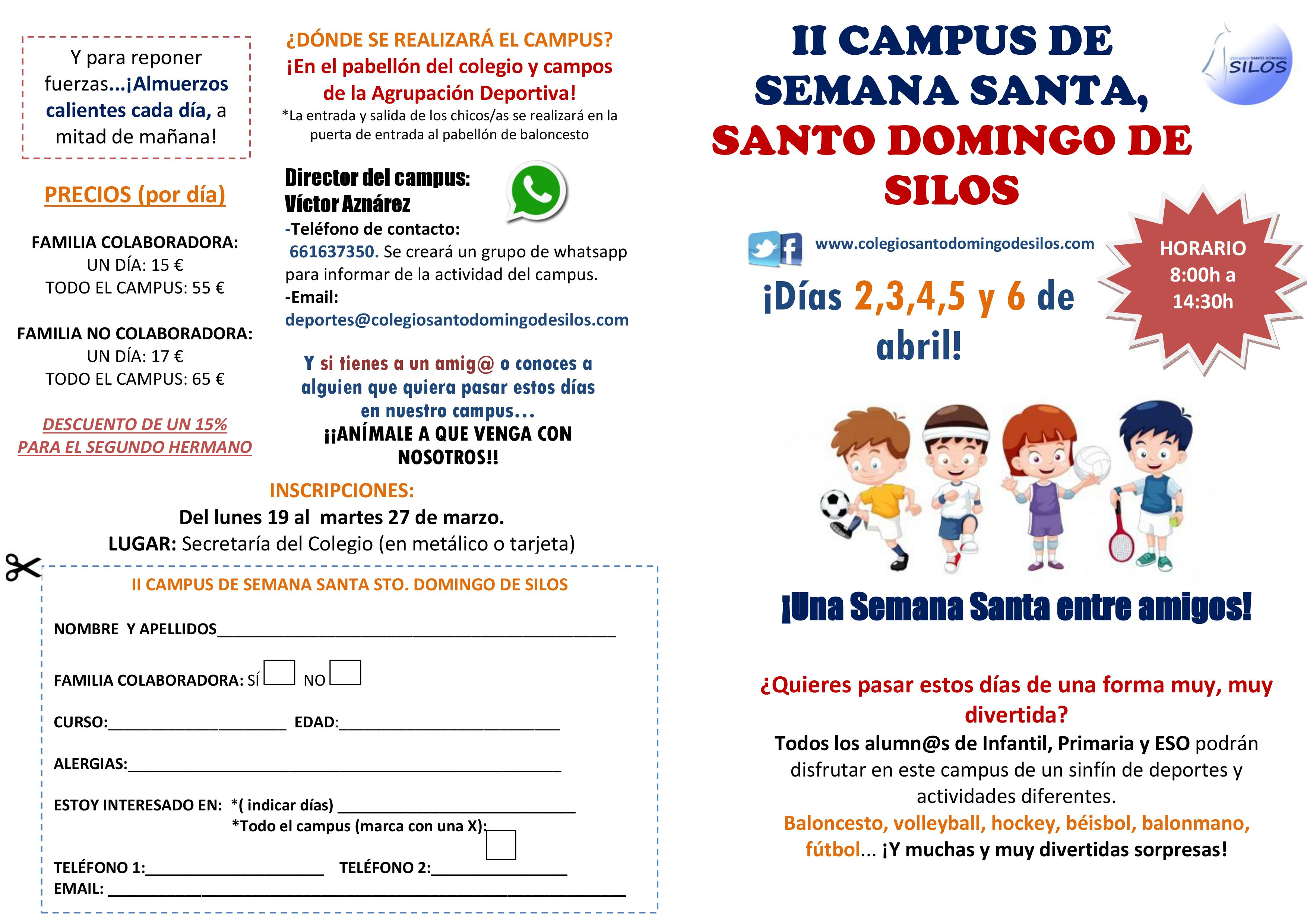 ¡Campus multideporte!